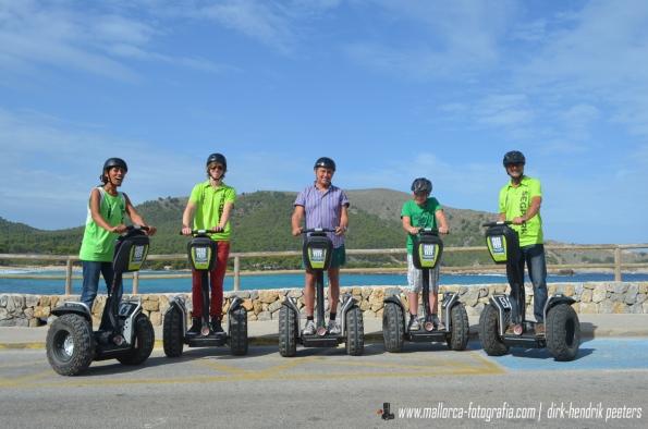 Herbstliche Segway Tour durch Cala Ratjada